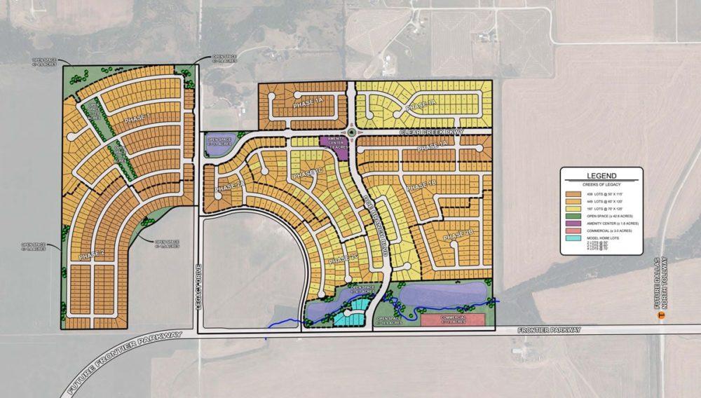 Creeks of Legacy Plans